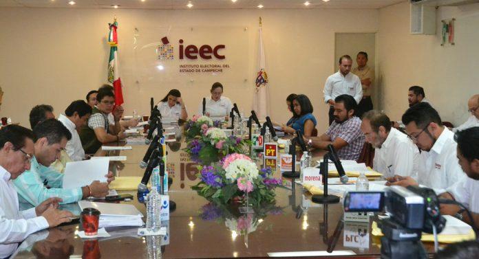 Sesión ordinaria del IEEC.