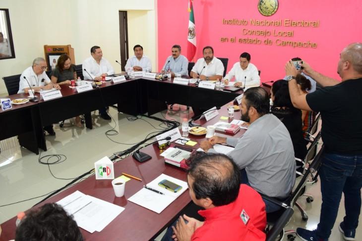 Sesión INE Campeche.