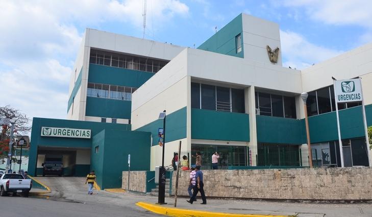 IMSS Campeche fachada