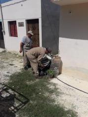 Ayuntamiento de Champotón y Secretaría de Salud en Segunda Jornada Nacional de Lucha contra la Arbovirosis.