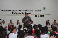 """Foro infantil """"Violencia de Género""""."""