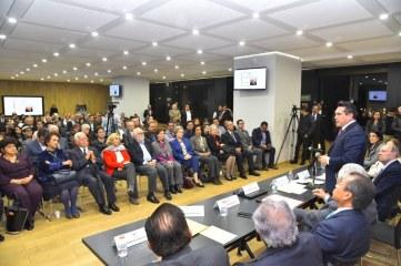 """Conferencia """"Estado de Derecho"""" impartida por el Dr. Sergio García Ramírez."""