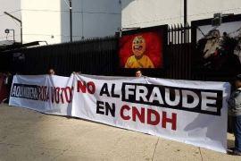 Toma de protesta titular CNDH.