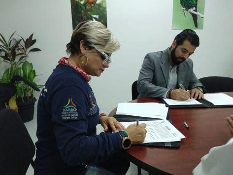 SEMABICC e IMRA signan convenio.