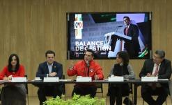 Tomó protesta al Consejo Nacional de la Conferencia Nacional de Legisladores Locales Priistas (CONALPRI).