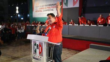 Toma de protesta de nueva dirigencia del PRI.