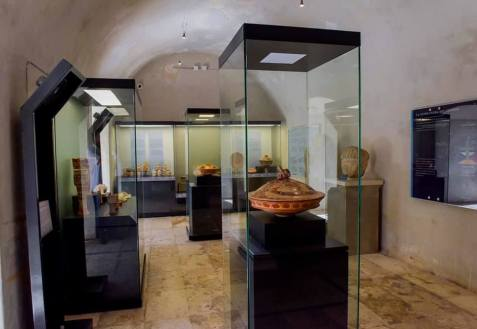 Museo de Arqueología Maya.