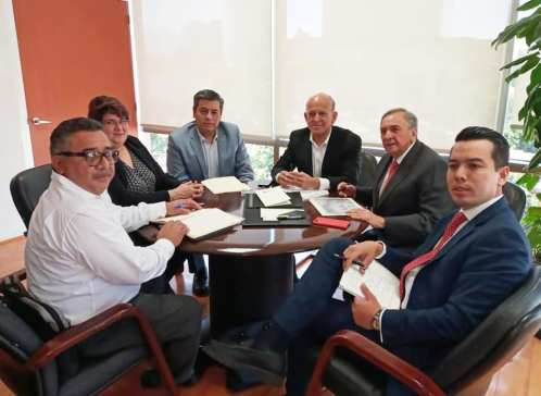 Aysa y equipo se reúnen con titular del INSABI.