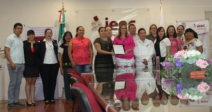 Convenio de paridad política en Campeche.
