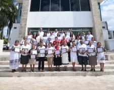 Merecido reconocimiento a mujeres campechanas.