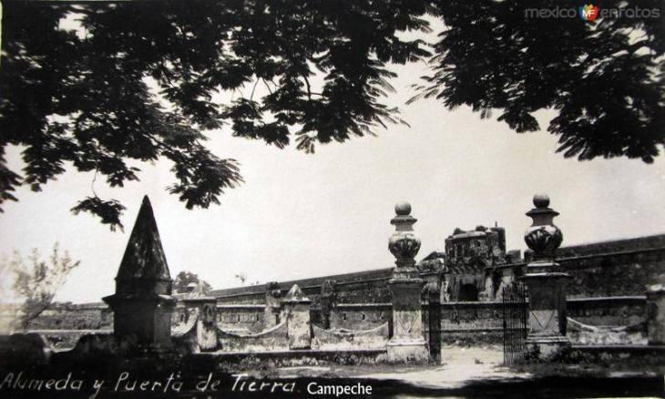 Alameda y Puerta de Tierra byn