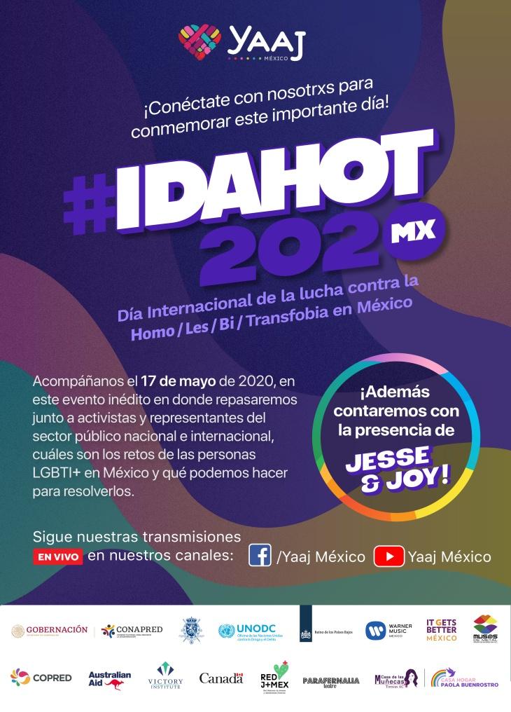 Póster #IDAHOT2020Mx